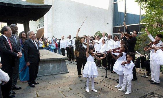António Guterres marcou o Dia Internacional da Paz em Nova Iorque