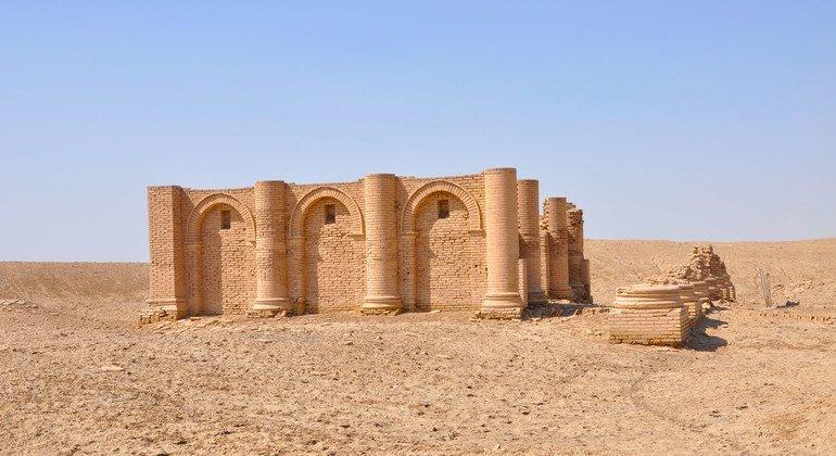 Храм на юге Ирака, построенный в эпоху, когда была создана «Табличка Гильгамеша».