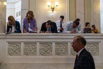 В украинской Раде число  женщин среди депутатов достигло 20 процентов