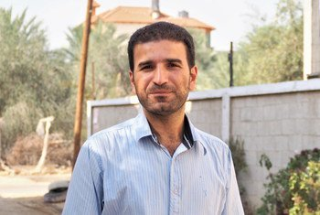 Mossa Abu Taema, one of the 20 first ambassadors of change who persuaded his community members to stop early marriages.