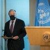 Numa entrevista a jornalistas, na sede da ONU em Nova Iorque, Guterres disse que o mundo precisa de solidariedade e cooperação e elogiou a notícia de uma vacina contra a Covid-19.
