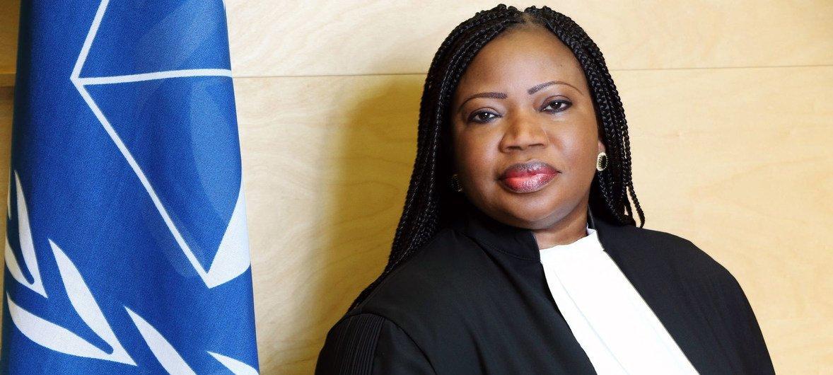 La fiscal de la Corte Penal Internacional, Fatou Bensouda.