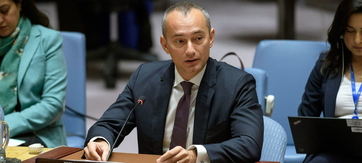 O coordenador especial da ONU para o Oriente Médio, Nickolay Mladenov, relatou algumas reações no terreno ao plano apresentado pelos Estados Unidos.