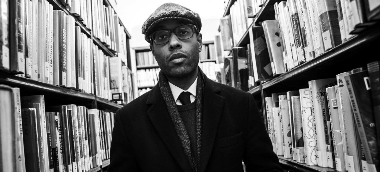 Aly Ndiaye, alias Webster, un artiste hip-hop et conférencier canadien.