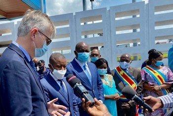 Le Secrétaire général adjoint des Nations Unies chargé des opérations de maintien de la paix, Jean-Pierre Lacroix, a rencontré ce mercredi 16 décembre 2020 le Gouverneur du Nord-Kivu, Carly Nzanzu Kasivita, accompagné du Comité provincial de sécurité.