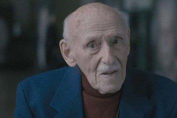 Paul Sobol, 94 ans, est un survivant d'Auschwitz.