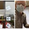 L'ONU à Bruxelles a fait don de ses réserves de masques à du personnel de santé.