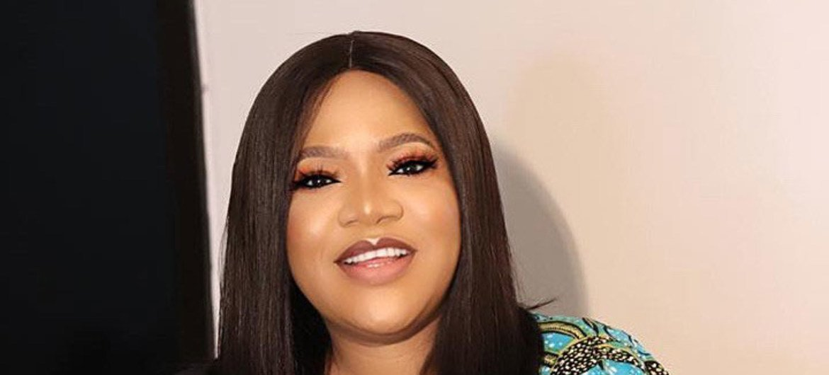 Nigerian film actress Toyin Abraham was among entertainers who helped the UN share messages to address myths surrounding COVID-19.