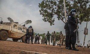 联合国中非稳定团对今天早晨发生在中非共和国首都班吉附近的武装袭击事件表示强烈谴责。