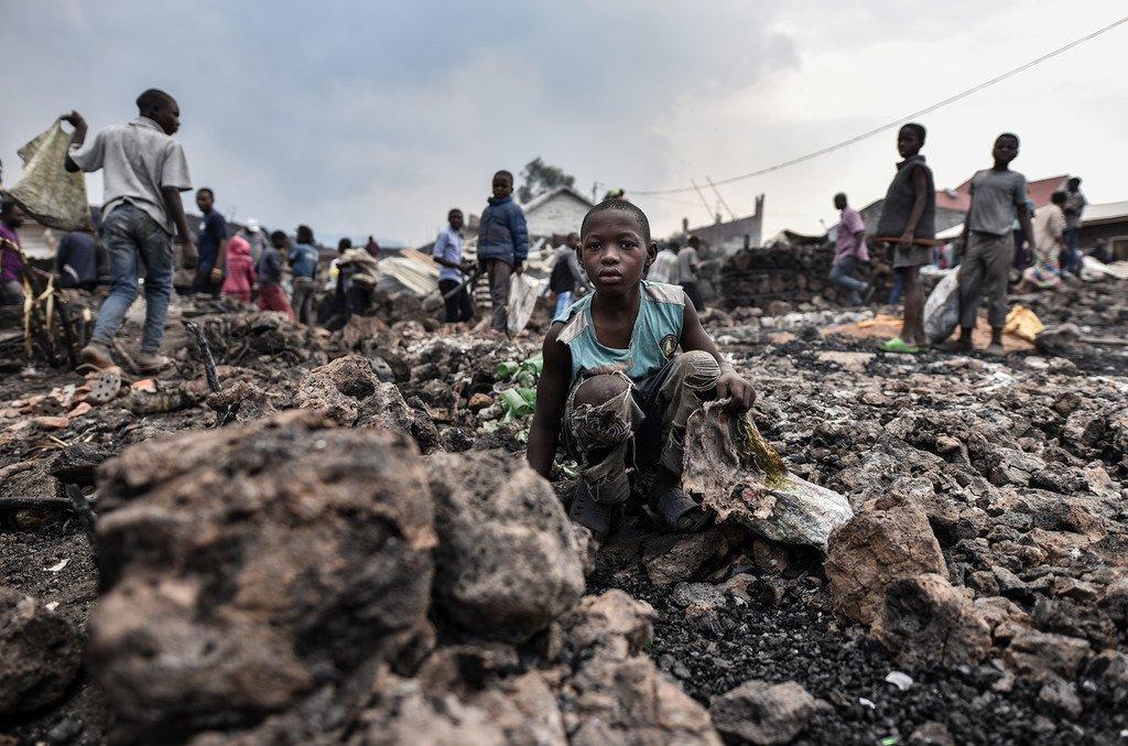 Watoto wako hatarini kufuatia kulipuka kwa volkano Goma nchini DRC.