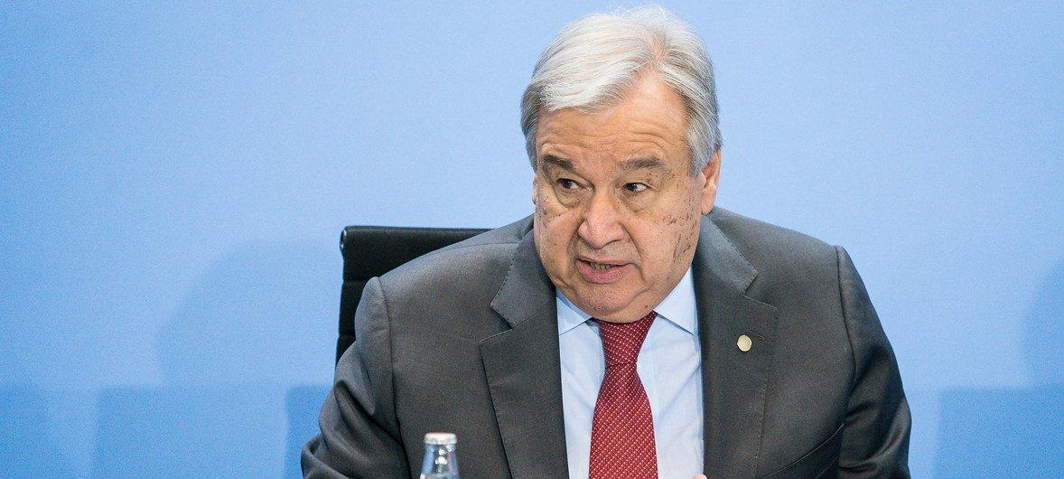 Secretário-geral lembrou que os países-membros têm, pela resolução aprovada pela Assembleia Geral, um incentivo para apoiar e assistir quem sobrevive ao ataque terrorista