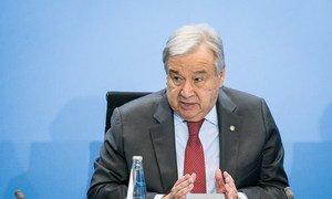 По словам Антониу Гутерриша, Берлинская конференция по Ливии поставила задачи добиваться преркащения огня и начать политический процесс.