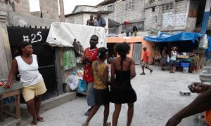 The Delmas 32 neighbourhood in the Haitian capital, Port au Prince is one of the poorest in the Caribbean country.