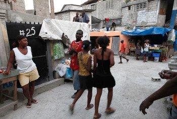 Le quartier Delmas 32, à Port au Prince, est l'un des plus pauvres d'Haïti.
