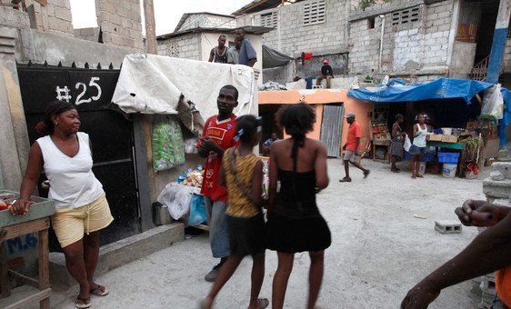 The Delmas 32 neighbourhood in the Haitian capital, Port-au-Prince is one of the poorest in the Caribbean country.