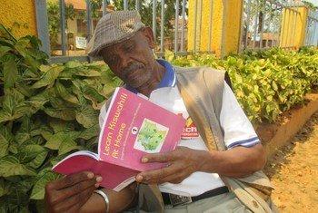Mzee Peter Semiga, mzee anayetoa ushauri kwa vijana nchini Uganda.