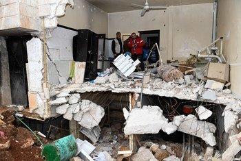 Pelo menos 53 civismorreram entrejunho e julhoemataques aéreos e bombardeios nonoroeste sírio