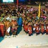 Celebrations to mark Timor-Leste's  independence in 2002 were held in the capital Dili.