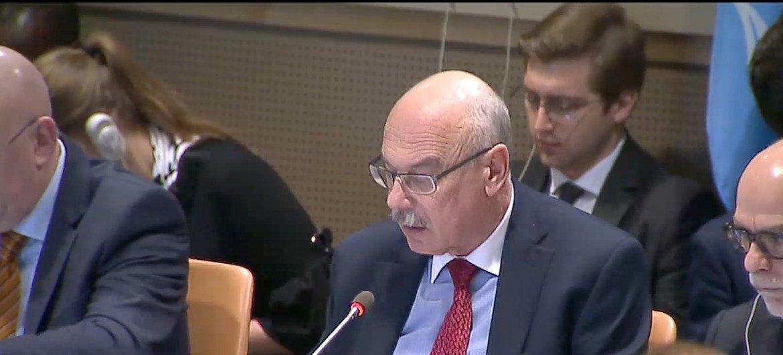 Владимир Воронков, глава Контртеррористического управления ООН.
