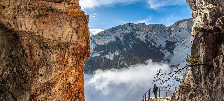 Majella, Géoparc mondial de l'UNESCO, Italie.
