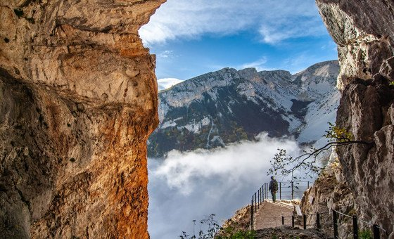 Majella UNESCO Global Geopark, Italy.