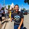 Marie Christina Kolo, una activista medioambiental de Madagascar.