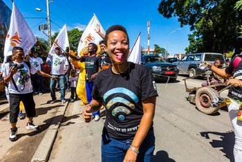 मेडागास्कर की युवा जलवायु कार्यकर्ता मैरी क्रिस्टीना कोलो
