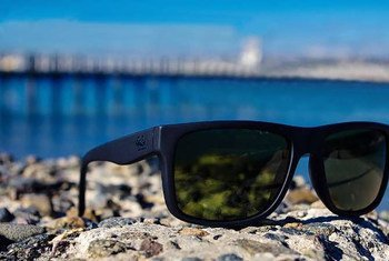 Des lunettes de soleil fabriquées à partir de filets de poissons recyclés sont en vente dans le cadre d'un partenariat avec le Fonds mondial pour la nature.