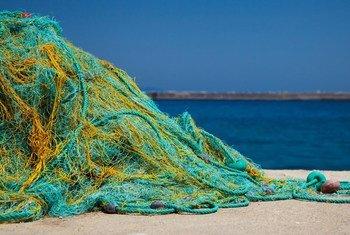 Des filets de pêche recyclés