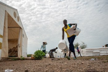 In Kenya, UNHCR has been distributing hygiene kits and firewood during the COVID-19 crisis