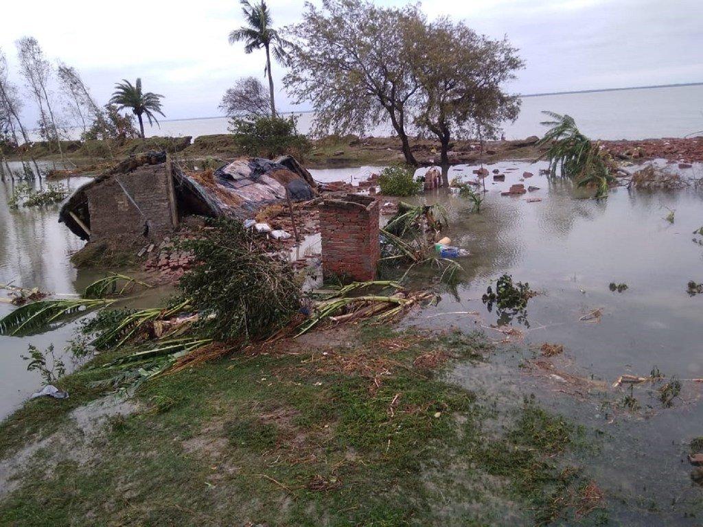 Le cyclone Amphan a frappé l'est de l'Inde mercredi après-midi.