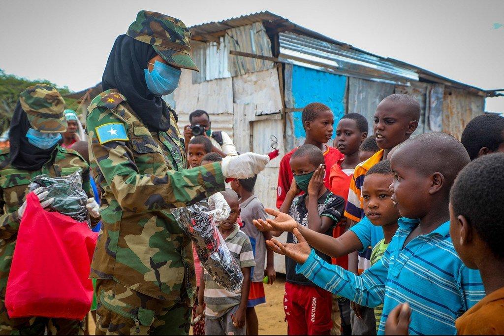 UNDP inafanya kampeni ya kuelimisha umma kuhusu COVID-19 katika mji mkuu Mogadishu