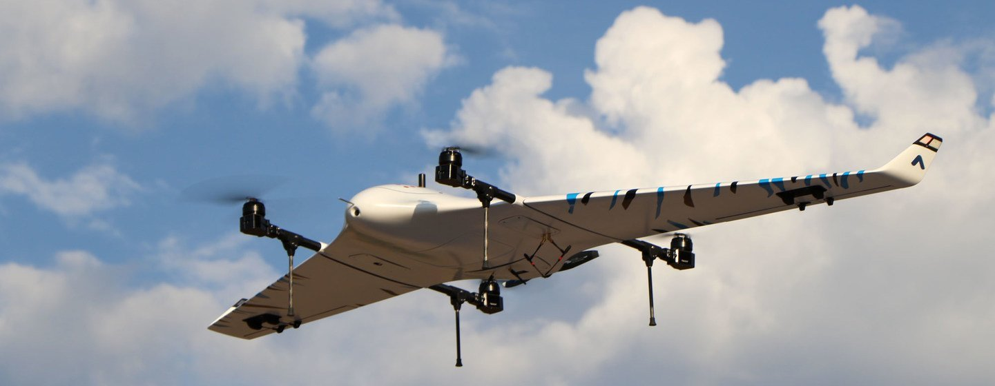 Drones can bring health care closer to people living in remote areas.