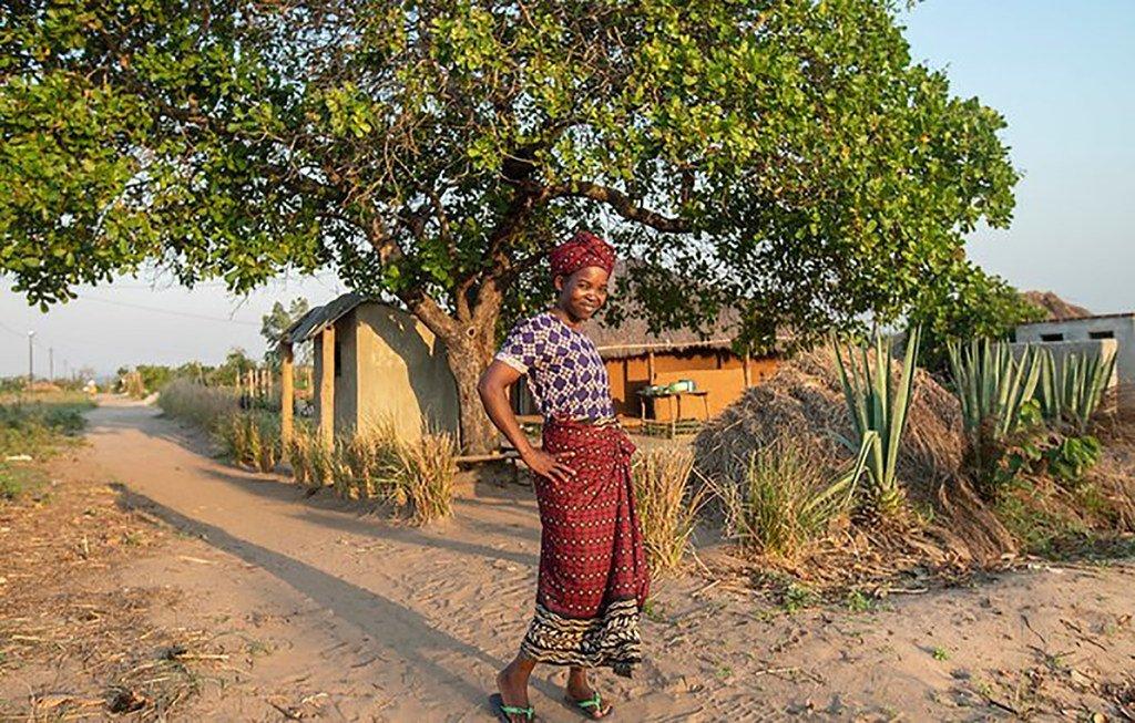 Beatrice Sebastiao mwenye umri wa miaka 28, manusura wa fistula ya uzazi huko Mocuba, jimbo la Zambezia, Msumbiji