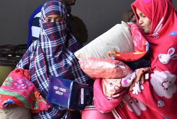 利比亚的黎波里的境内流利失所者(资料图片)。