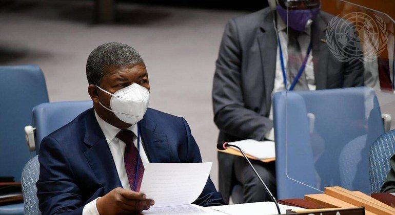 Presidente de Angola, João Lourenço,discursouem encontroem Nova Iorque
