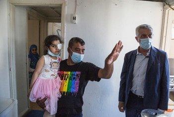Alto comissário para os Refugiados, Filippo Grandi, visitou pessoas afetadas pela explosão