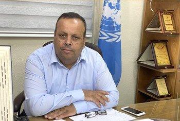 فريد أبو عاذرة، رئيس برنامج التربية والتعليم في وكالة الغوث بغزة