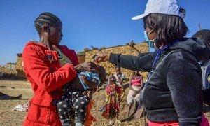 Campagne de vaccination contre la polio en Angola