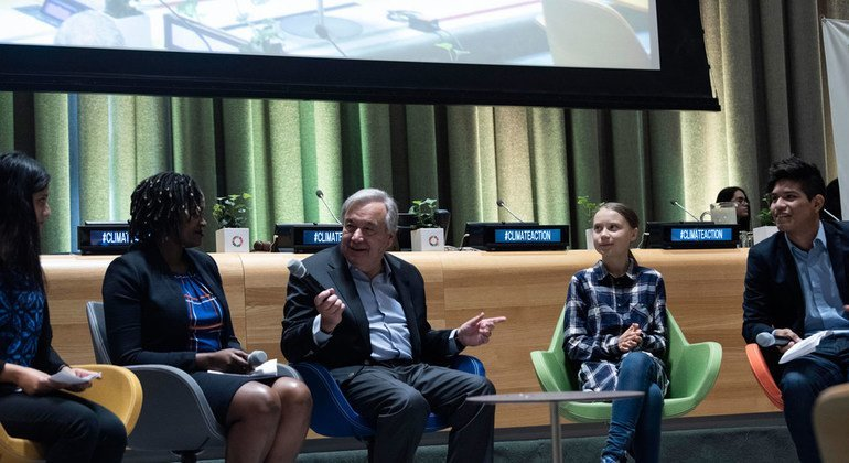 At the UN, youth activists demand bold climate action, vow to hold leaders accountable at ballot box