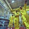 Inspeção em usina nuclear