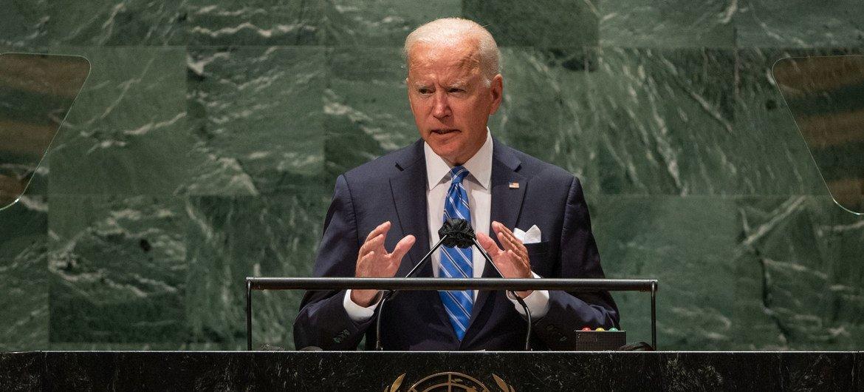 À l'ONU, le Président américain Biden promet une nouvelle ère de diplomatie
