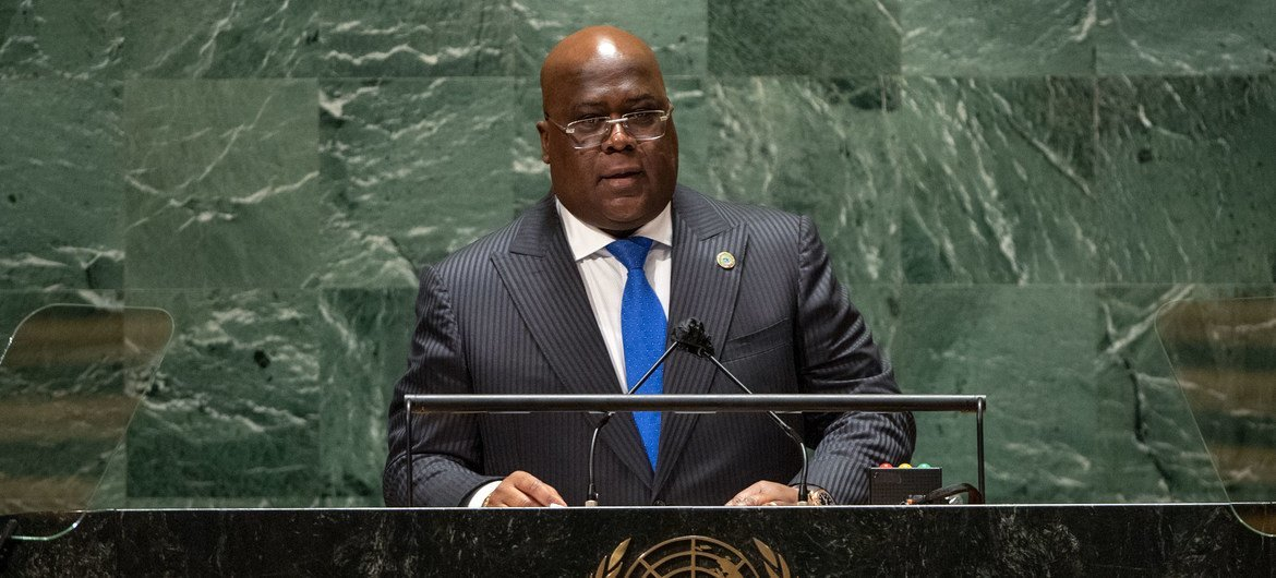 DR Congo President asks for materialization of 'all the promises made to Africa'