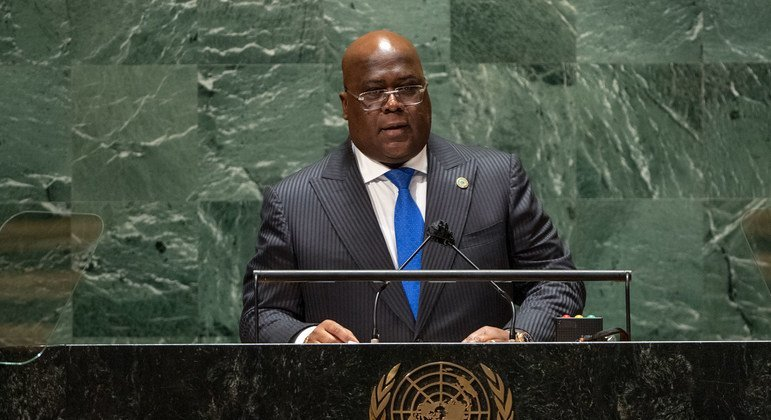 DRCongoPresident asks formaterialization of'all the promises made to Africa'