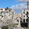 Old city center destroyed by bombs and fightings, Benghazi, Libya, November 29, 2017