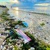 समुद्री तटों पर व महासागर की गहराई में बड़ी मात्रा में प्लास्टिक, काग़ज़, लकड़ी, धातु और अन्य पदार्थ घुल गए हैं.