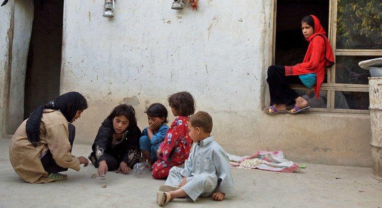 El conflicto y la inseguridad en Afganistán ponen en  riesgo a los niños.