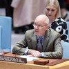 James Swan, représentant spécial du Secrétaire général et chef de la Mission d'assistance des Nations Unies en Somalie, informe le Conseil de sécurité de la situation en Somalie. 21 novembre 2019