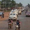 MINUSCA has deployed police units in the capital, Bangui and its surroundings following attacks by armed groups to the north-west of the city.