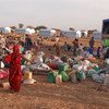 Malian Refugees from Mali return to Goudoubo camp in Burkina Faso which they had left for security reasons.
